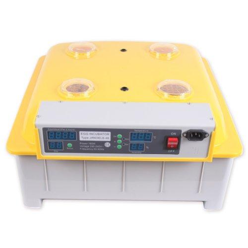 BINGS Janoel 48 Eggs Digital Automatic Turner Incubator