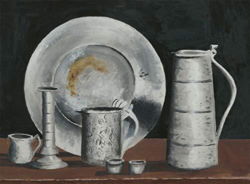 Joe Evans - 20th Century Acrylic, Still Life 20th Century Still Life