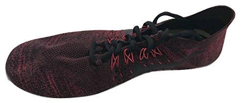 NIKE Free RN Flyknit 2017 Mens Running Trainers 880843 Sneakers Shoes (UK 7.5 US 8.5 EU 42, Dark Team red Wolf Grey 606)