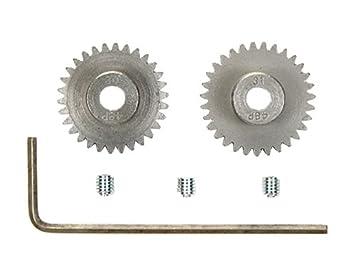 Amazon com: Tamiya #54466 RC 48 Pitch Pinion Gear - 30T/31T