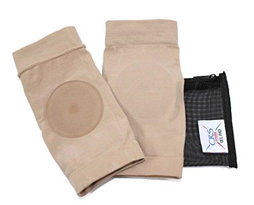 Ankle Malleolar Gel Disc Sleeves by CRS Cross Gel Pad (Malleolar Sleeve)