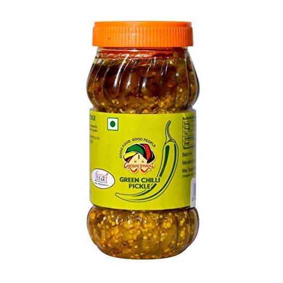 Chokhi Dhani Foods Green Chilli Pickle 1 kg