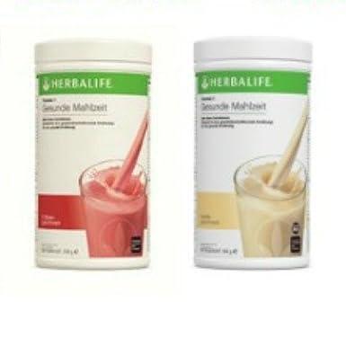 Herbalife Formula 1 Shake Vainilla y fresa, 2 unidades, 550 g cada uno: Amazon.es: Industria, empresas y ciencia