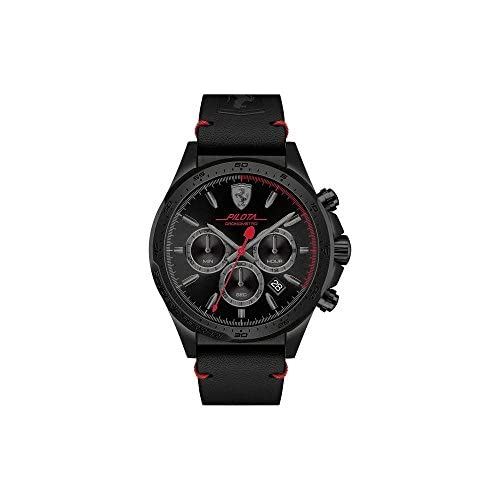 chollos oferta descuentos barato Reloj Scuderia Ferrari para Hombre 0830434 Negro Negro