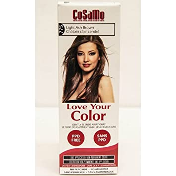 Love Your Color Cosamo -- Ammonia & Peroxide Free Hair Color