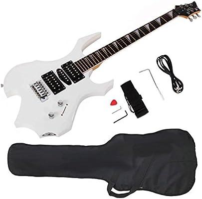 GLARRY Cool Burning Fire guitarra eléctrica estilo regalo de ...