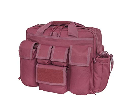 (LA Police Gear Jumbo Bail Out Bag -Diaper Bag, Bug Out, Briefcase (Maroon))