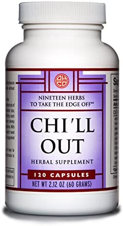 Chi'll Out by OHCO Oriental Herb Co – Relaxation, Anxiety, Anxiety Relief, Stress, Sleep Apnea, Tension, Sleep Apnea Relief, Sleep Aid – Natural Herbal Supplement for Stress Relief 120 Capsules