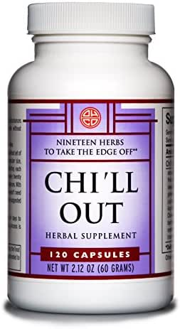 Chi'll Out by OHCO Oriental Herb Co - Relaxation, Anxiety, Anxiety Relief, Stress, Sleep Apnea, Tension, Sleep Apnea Relief, Sleep Aid - Natural Herbal Supplement for Stress Relief 120 Capsules