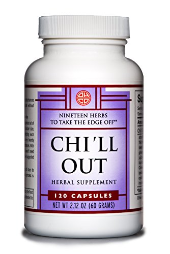 OHCO Chi'll Out 120 Capsules – Herbal Remedy for Relaxation – Get Relief from Anxiety, Stress, Sleep Apnea, and Sleeplessness Tension Headache – Calm and Stress Management Support