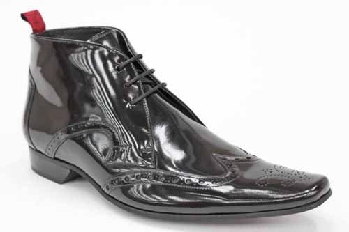 Jeffery West Black Line G0351A - Bottines de ville hommes - cuir