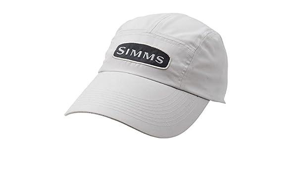 Simms libra microfibra gorra Blanco crema: Amazon.es: Deportes y ...