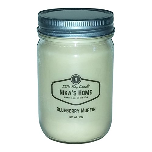 Nikas Home Blueberry Muffin Candle product image