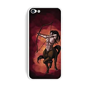 Graphics and More Centaur - Sagittarius Mythology Mythical Creatur Archer Bow Arrow Protective Skin Sticker Case for Apple iPhone 6 plus 5.5 - Set of 2 - Non-Retail Packaging - Opaque