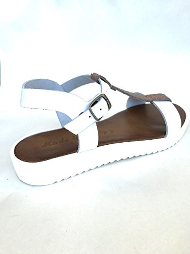 Pelle Basso Tortora Mainapps Sandali Italy Tacco Cl200921 Platform Made In vRRPa