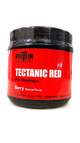 Tectanic Red, Berry Flavor 16 oz