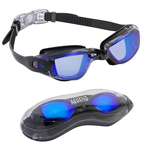Aegend Swim Goggles, Swimming Goggles No Leaking Anti Fog