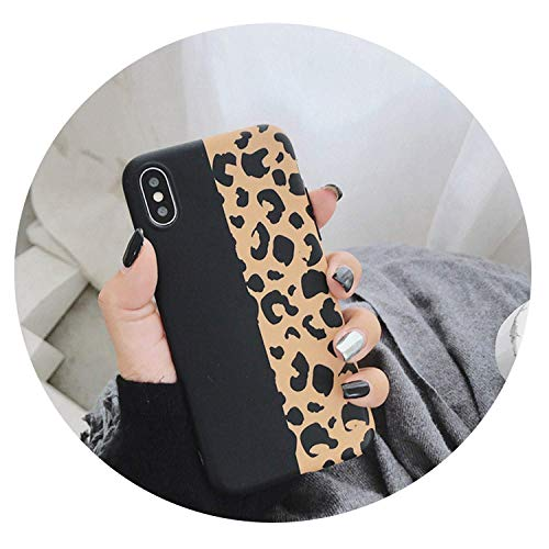 (Leopard Print Phone Case for iPhone Xs Max XR X Case for iPhone 6 6s 7 8 Plus Back Cover Luxury Soft Cases,Style 2,for)