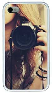 Beautiful Camera DIY Rubber White iPhone 6 4.7 Case Perfect By Custom Service
