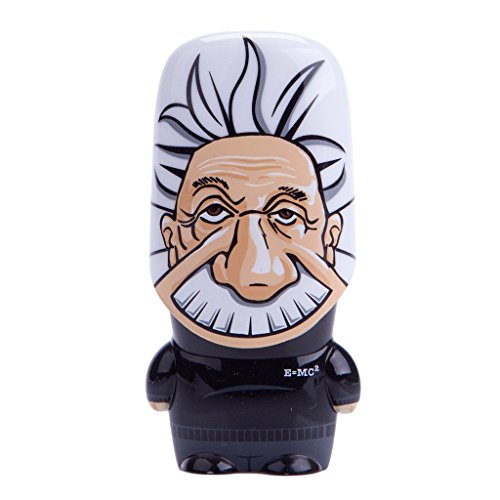 64GB 3.0 Albert Einstein Legends of MIMOBOT Designer USB Flash Drive with Bonus preloaded Mimory Content, Limited Edition by Mimoco (Drive Mimobot Flash)