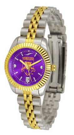 SunTime Weber State Wildcats Ladies Executive AnoChrome Watch