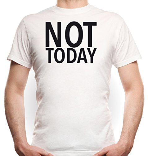 Not Today T-Shirt White Certified Freak