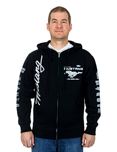 Ford Mustang Collage Hoodie (X-Large)