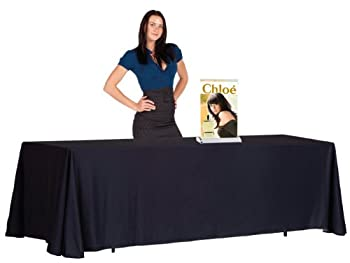 """Galaxy Displays - Mini Retractable Table Top Banner Stand! Smurf Mini 11""""x18"""" - Graphic Included!!"""