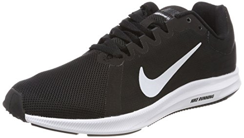 Nike Womens Entry - Nike Women's Downshifter 8 Running Shoe, Black/White/Anthracite, 9 Regular US