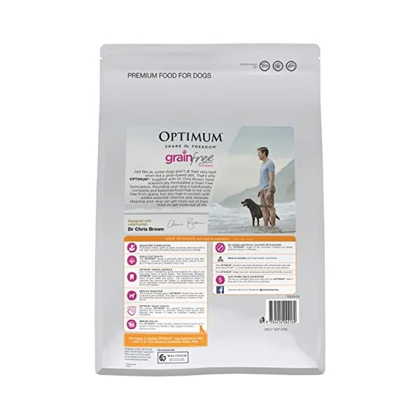 OPTIMUM Vegetables & Rice Dry Dog Food 2