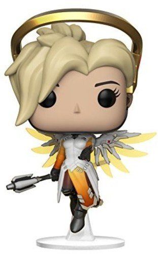 Price comparison product image Funko Pop Games: Overwatch-Mercy, Multicolor