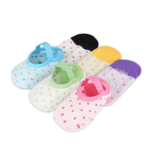 YOHOOLYO Baby Socks 6 Pairs Anti Skid Slip Socks grip