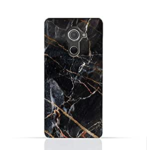 Blackberry Dtek 60 TPU Silicone Case With Dark Grey Marble Texture