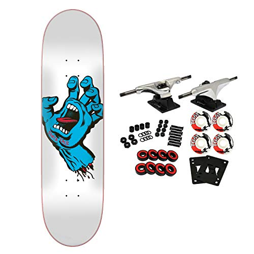 skateboard complete screaming hand taper