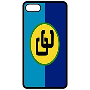 Caricom Flag Black Apple Iphone 6 (4.7 Inch) Cell Phone Case - Cover