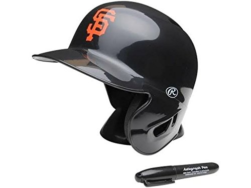 MLB San Francisco Giants Replica Mini Baseball Batting Helmet ()