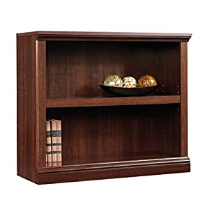 Amazon Com Sauder 2 Shelf Bookcase L 35 28 Quot X W 13 23