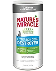 Nature's Miracle Litter Box Odor Destroyer Powder Just For Cats 567gm