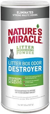 Nature's Miracle arena para gatos destructor de olores 1
