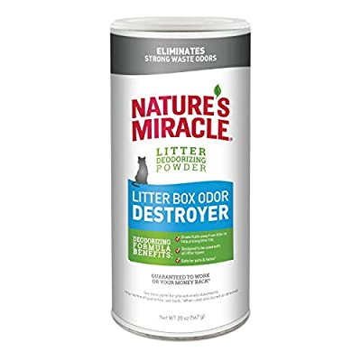 Cat Litter Nature's Miracle Just for Cats Odor Destroyer [tag]