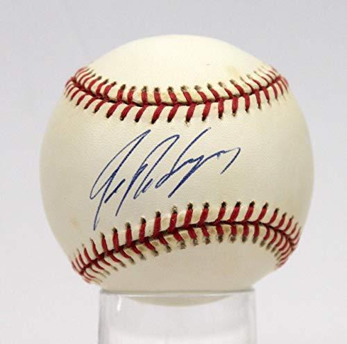 Autographed Ivan Rodriguez Ball - Rangers Oal #ae93581 - PSA/DNA Certified - Autographed Baseballs (Baseball Oal Ball)