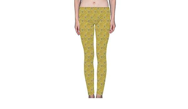 4f39e9a51c386 LuxSweet Lemon Juicy Fruit Women's Printed Leggings Soft Stretchy Workout  Yoga Pants Fashion Sports Pants at Amazon Women's Clothing store: