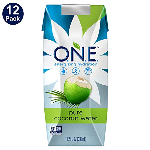 O.N.E. Pure Coconut Water, 11.2 Ounce (Pack of 12)