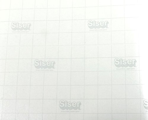 Siser EasyPSV Transfer Tape Paper Clear Roll with Grid for Self Adhesive Craft Vinyl (12