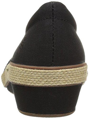 Grasshoppers Women's Petunia Wedge Fashion Sneaker Black eNl10Hwn