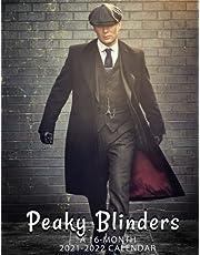 Peaky Blinders Calendar 2021-2022: 2022 Monthly Yearly Agenda BONUS 3 Months Of Period Crime Drama Series