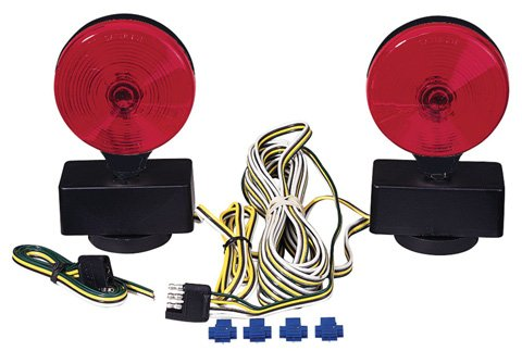 Peterson Manufacturing V555 Auxiliary Tow Light - Tow Lights Magnetic