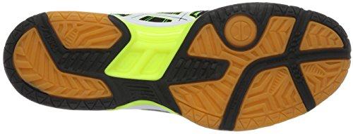 7 de Gel Asics Black Rocket Chaussures Vert White Green Volleyball Homme Gecko EfWRq