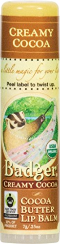 Badger Cocoa Butter Lip Balm