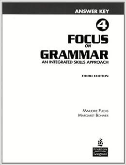 grammar explorer 1 answer key